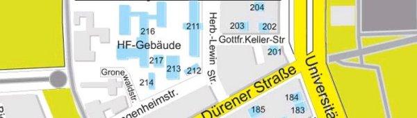 Uni Köln Plan